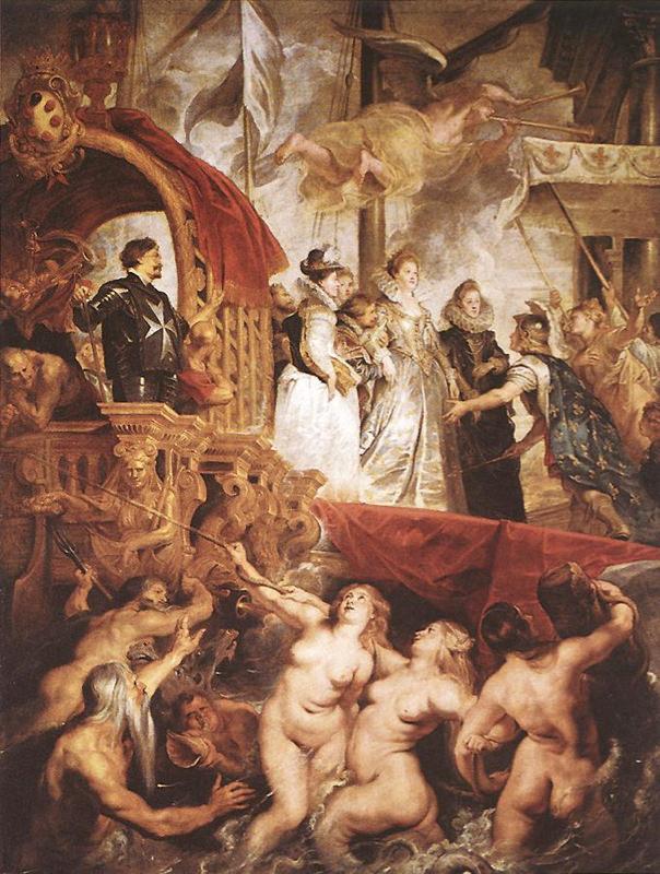 Rubens, L'arrivée de Marie de Medici à Marseilles