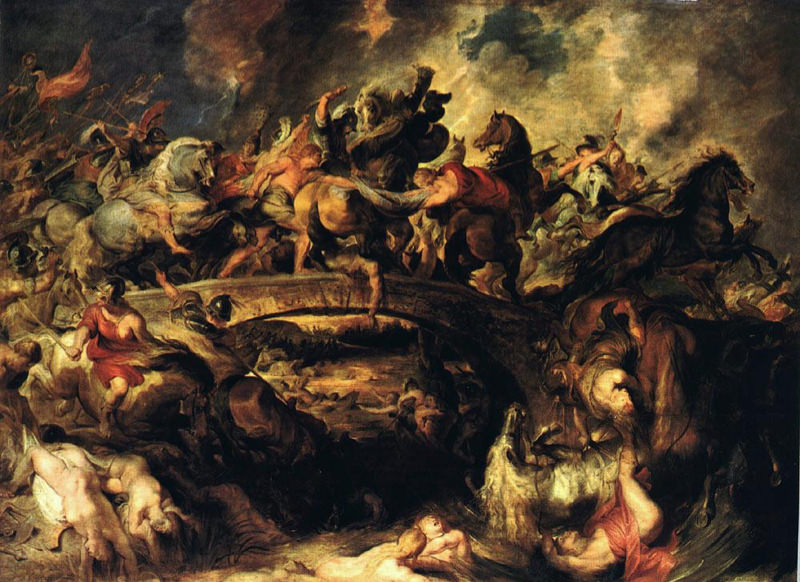 Rubens, La bataille des Amazones