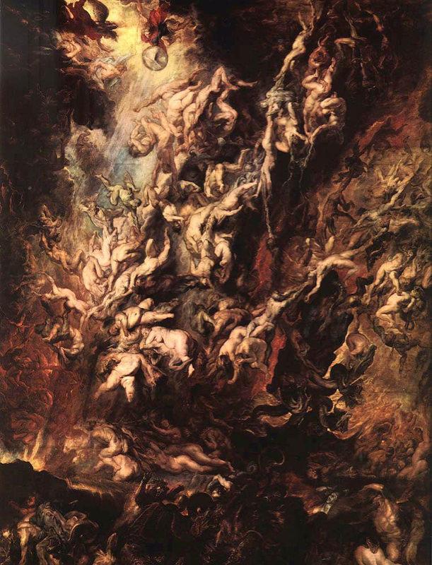 Rubens, La chute des damnés