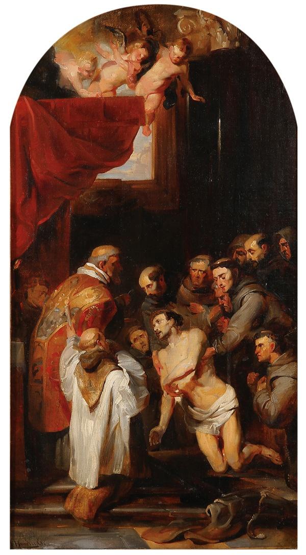 Rubens, La dernière communion de Saint François d'Assise