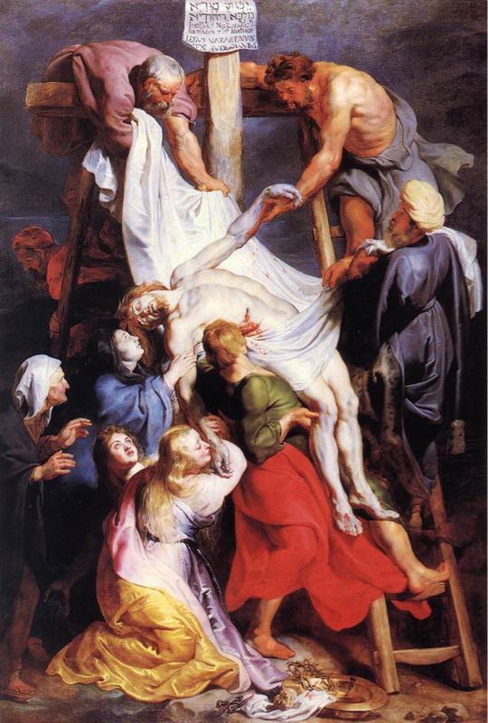Rubens, La descente de la croix