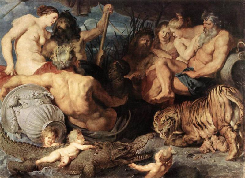 Rubens, Les quatre continents