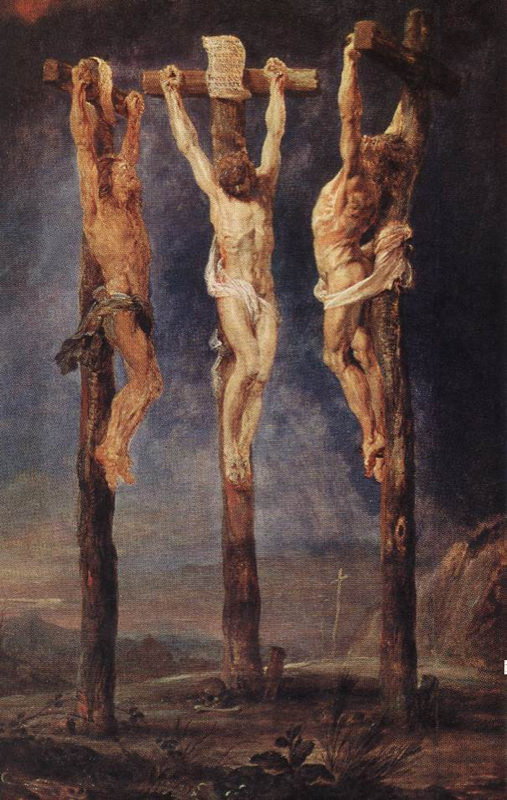 Rubens, Les trois croix