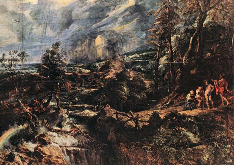 Rubens, Paysage orageux