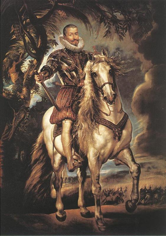 Rubens, Portrait équestre du Duc de Lerme