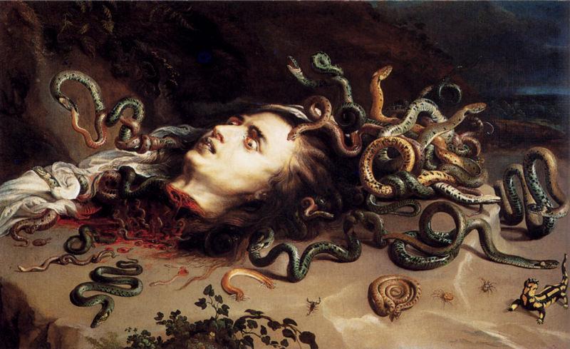 Rubens, Tête de Méduse