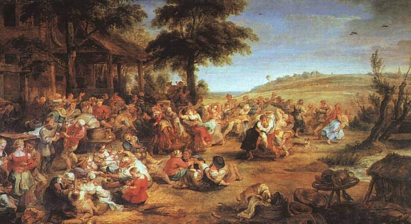 Rubens, La fête de village