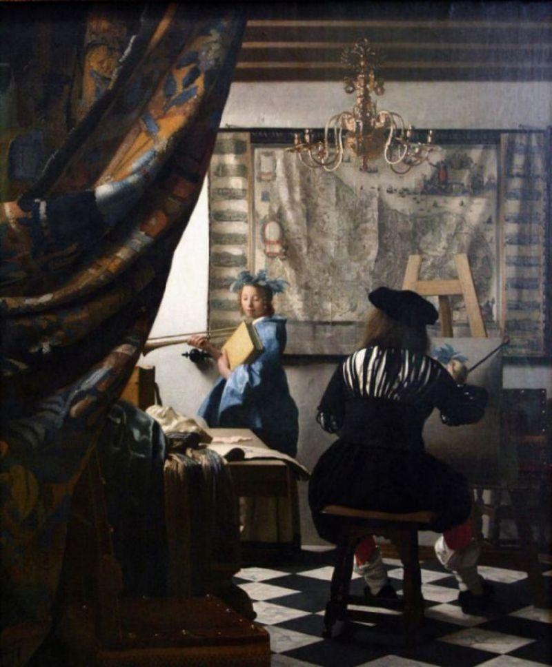 Les tableaux de Vermeer sont saisissants de réalisme. Les auraient-ils tracés?