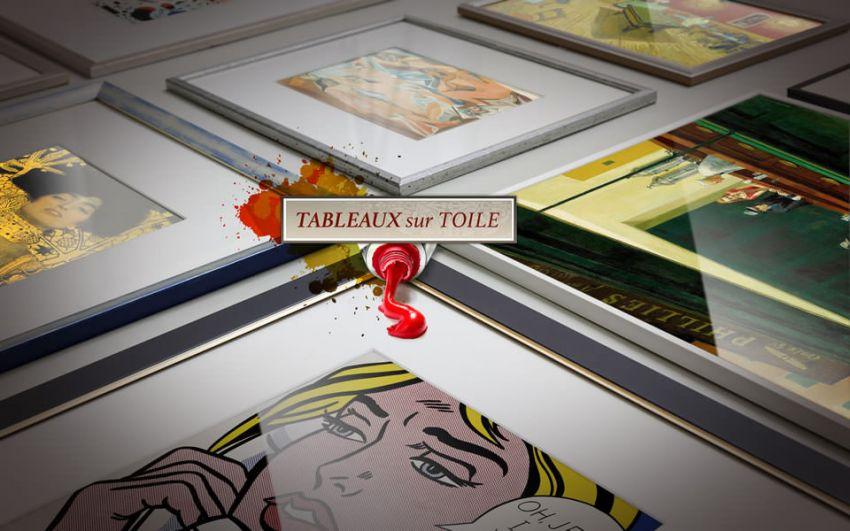 La reproduction de tableau à Tableaux Sur Toile - Découvrez les techniques utilisées à notre atelier pour reproduire vos oeuvres.