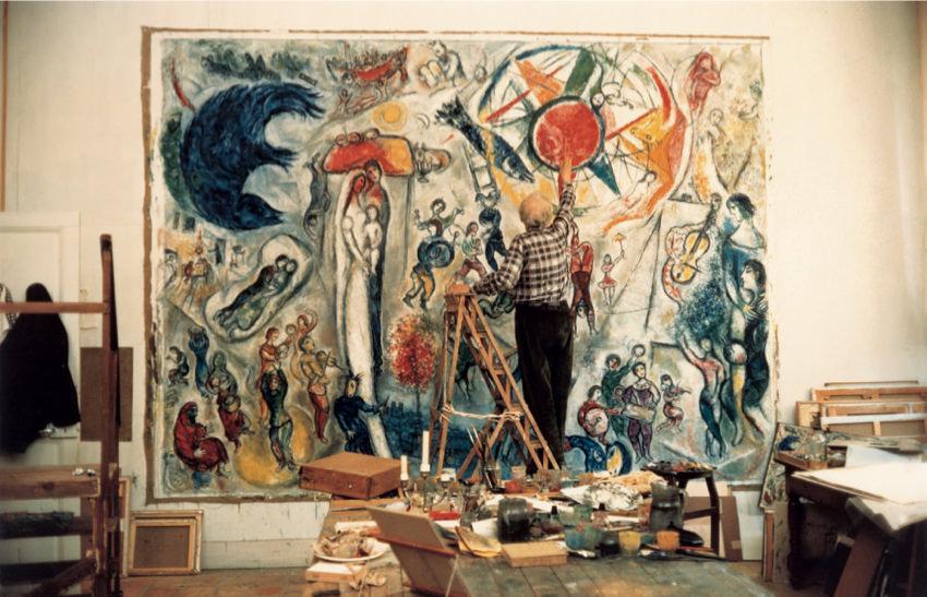 Le vrai tableau avan reproduction par l'artiste qui l'a crée