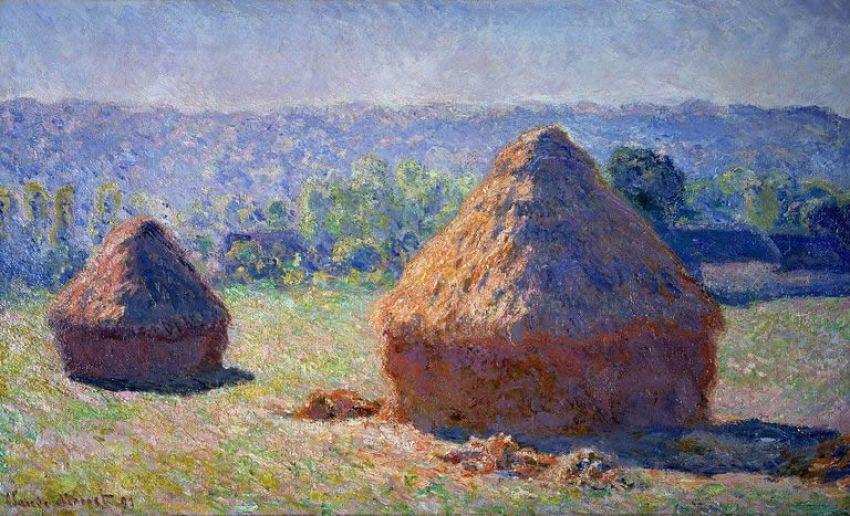 Reproductions des tableaux de Monet peintes à la main