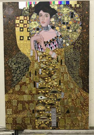 Gustav Klimt, Adele Bloch Bauer - 100 x 80cm