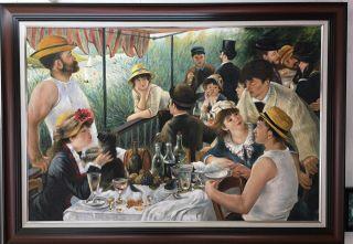 Renoir, Le déjeuner des canotiers - 80 x 120 cm