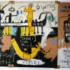 Basquiat, Untitled history of the black people - 1983