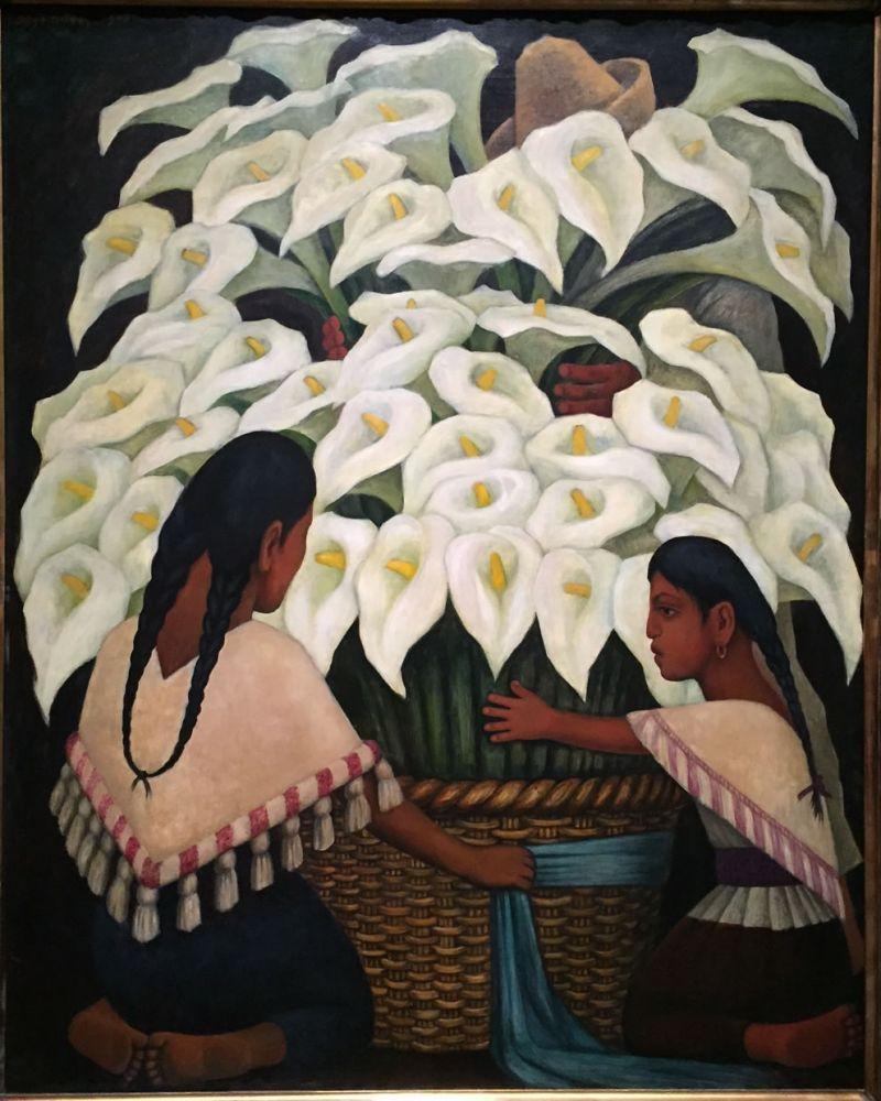 Diego Rivera, Vendeuses De Calla Lilies - El Vendedor De Alcatraces