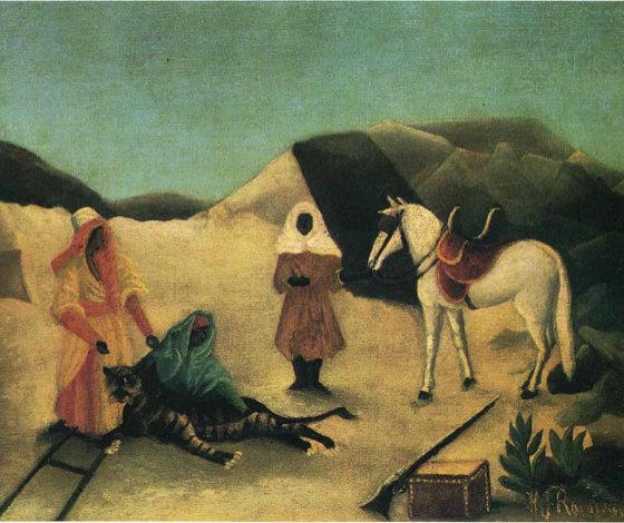 Douanier Rousseau, La chasse au tigre