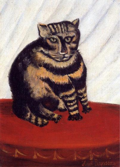 Douanier Rousseau, Le chat tigré