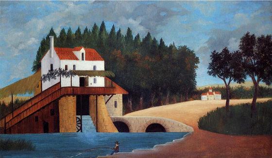 Douanier Rousseau, Le moulin