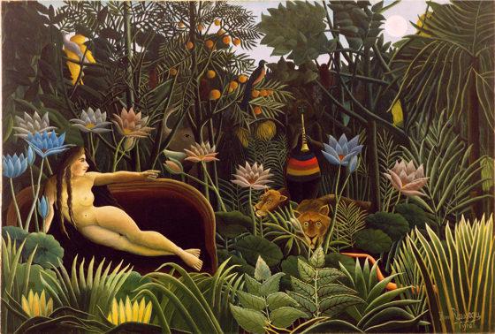 Douanier Rousseau, Le rêve