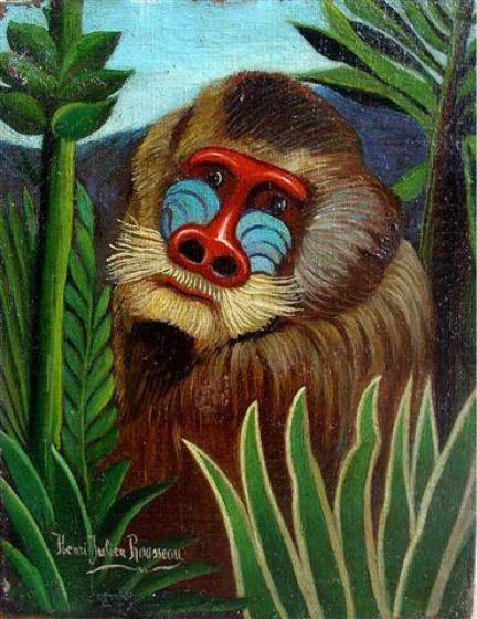 Douanier Rousseau, Mandrill dans la Jungle
