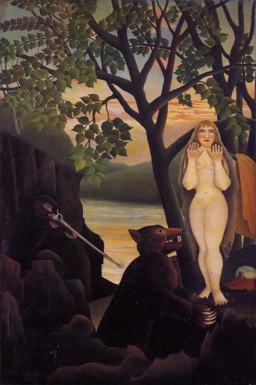 Douanier Rousseau, Nu et ours