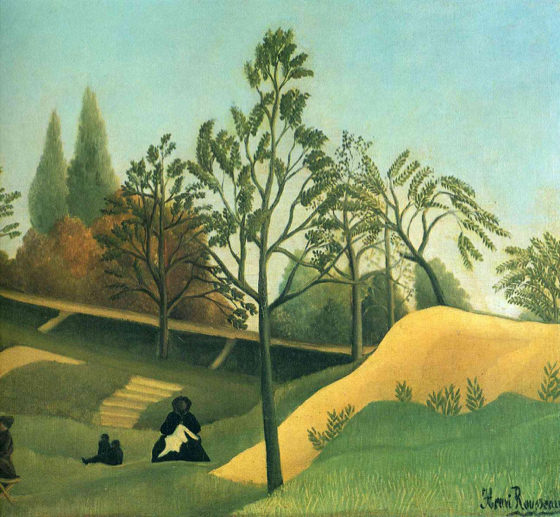 Douanier Rousseau, Vue des fortifications