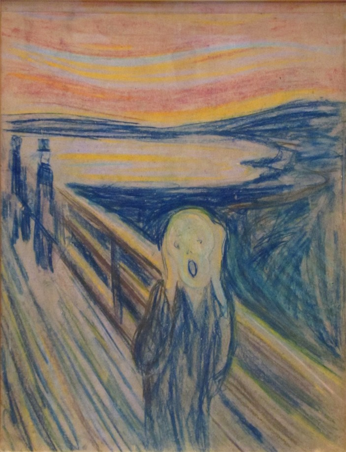 Edvard Munch Le Cri - Version 4