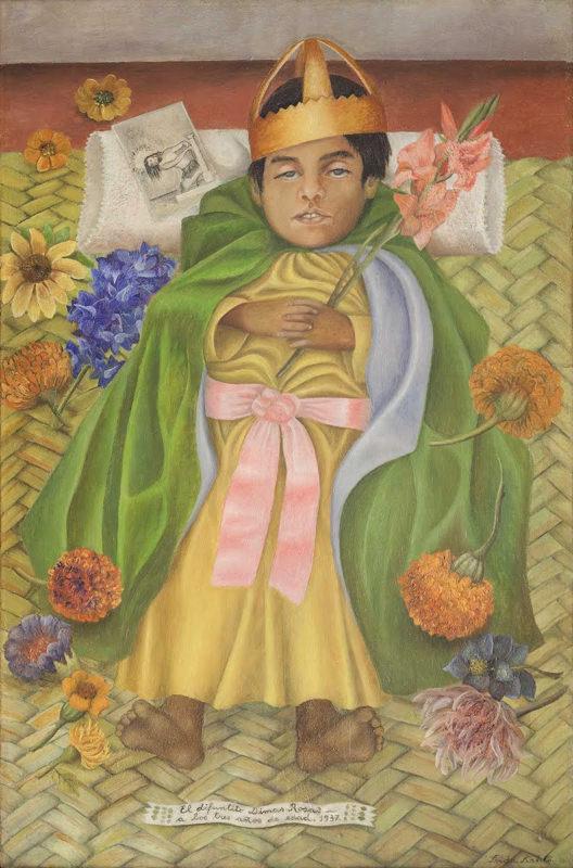 Reproduction Tableau De Frida Kahlo Dimas Decede