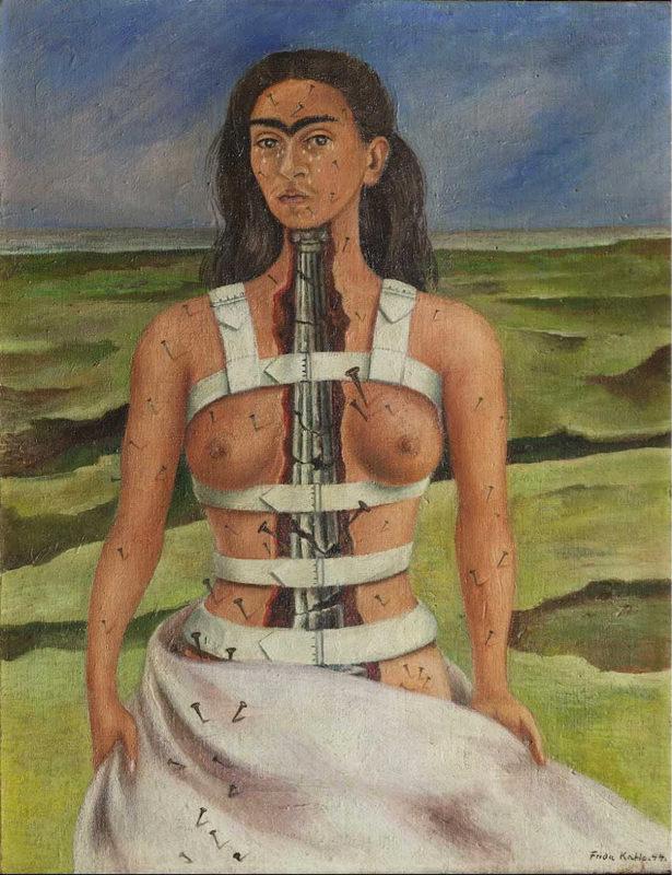 Frida Kahlo, La colonne cassée