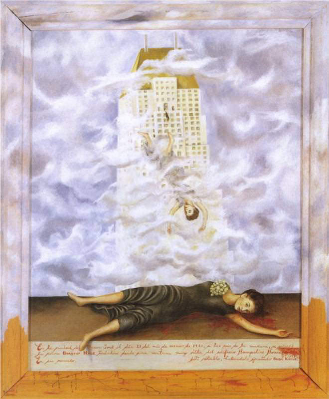 Frida Kahlo, Le suicide de Dorothy Hale