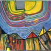 Hundertwasser, Coucher De Soleil