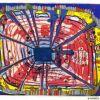 Hundertwasser, Une Pluie De Sang Tombe Dans Le Jardin