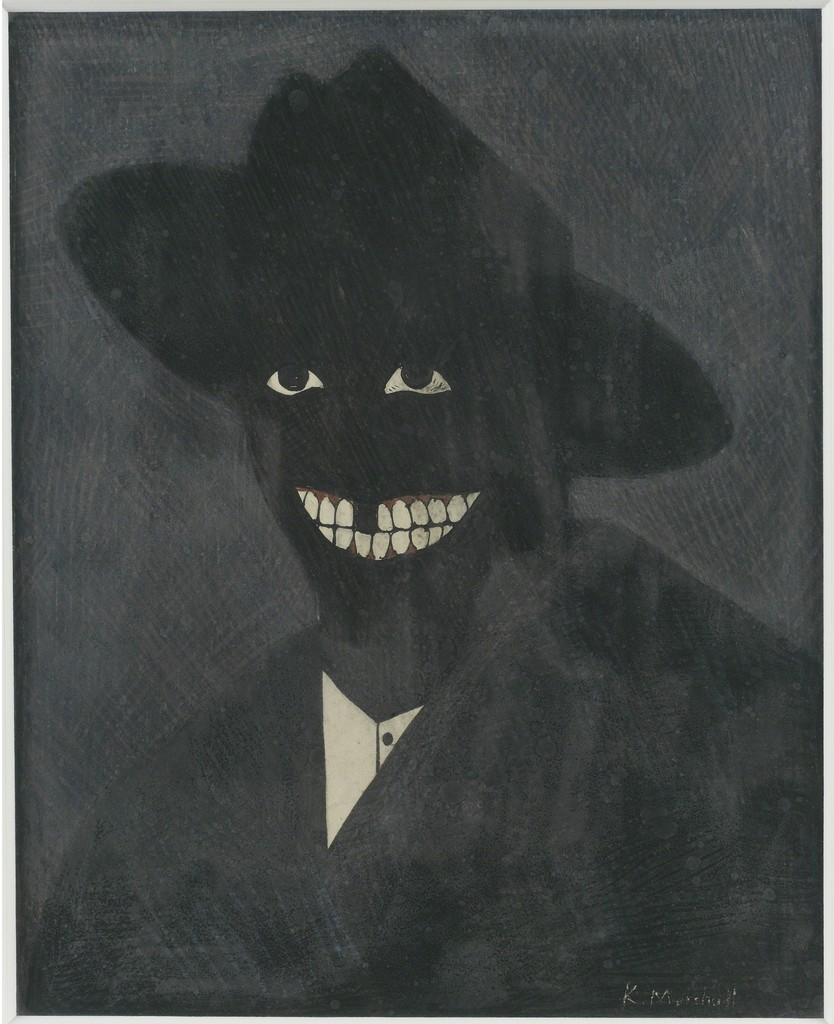 Kerry James Marshall, A portrait of the artist as a shadow of his former self