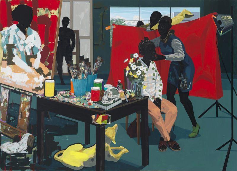 Kerry James Marshall, Untitled - Studio -2014