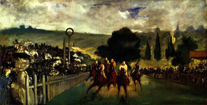 Manet, Course à Longchamp
