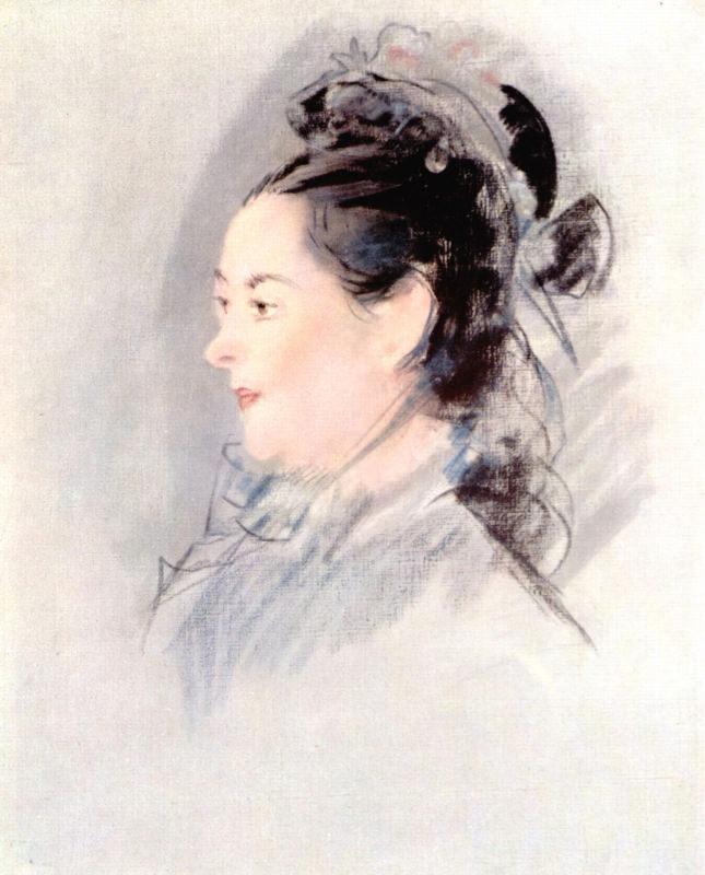 Manet, Dame Aux Cheveux Relevés