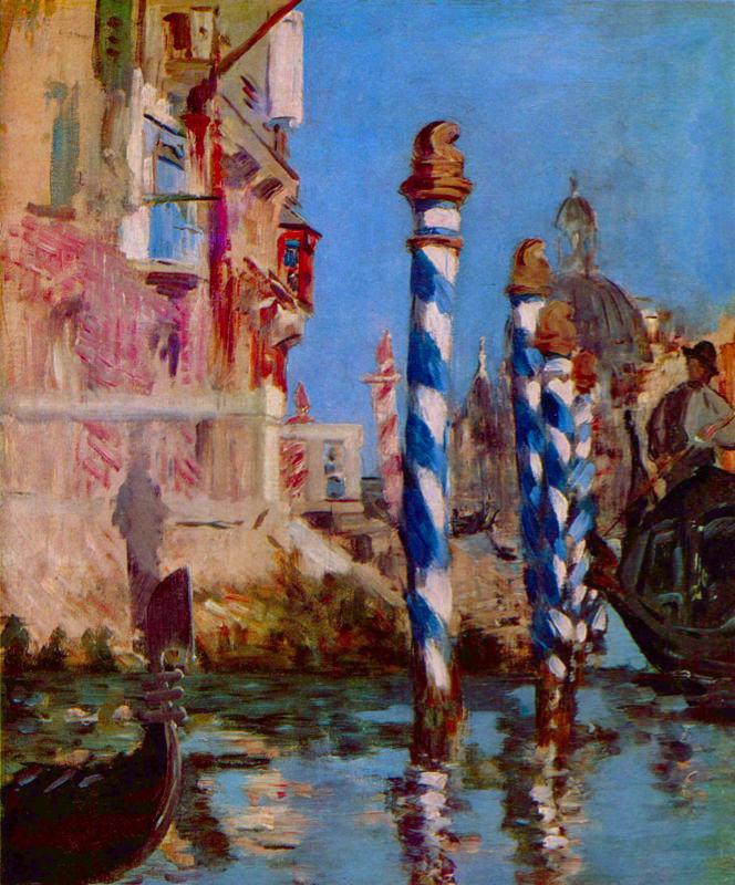 Manet, Grand Canal De Venise