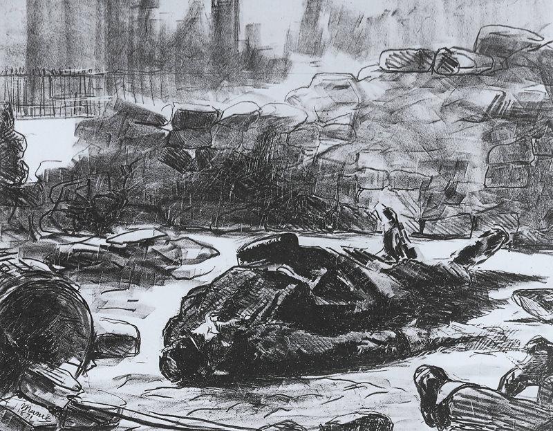 Manet, Guerre Civile