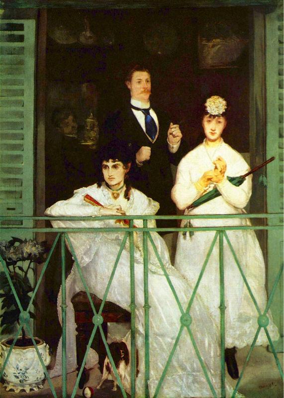 Manet, Le Balcon