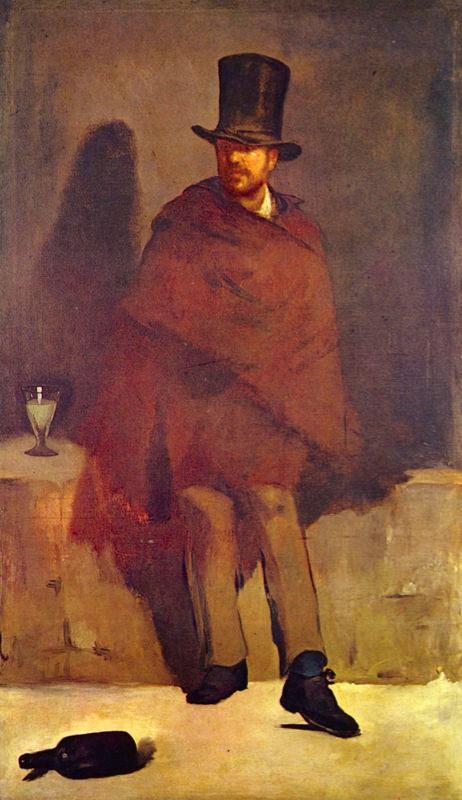 Manet, Le buveur d'Absinthe
