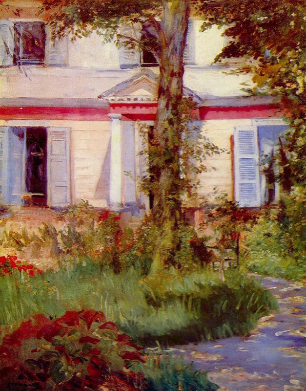 Manet, Maison A Rueil
