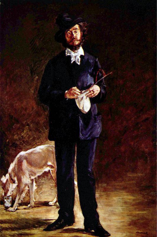 Manet, Portrait De Gilbert-marcellin Desboutin où l' Artiste