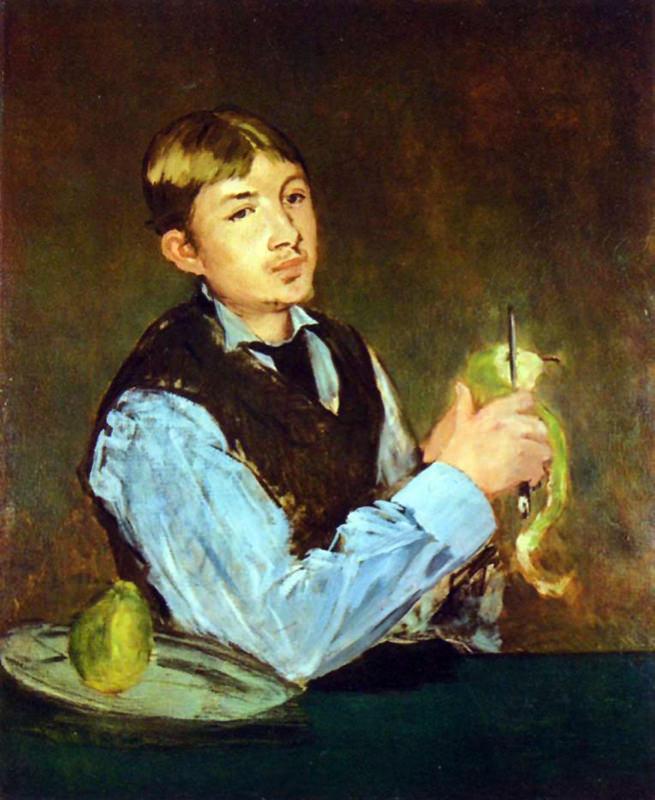 Manet, Portrait De Leon Leenhoff