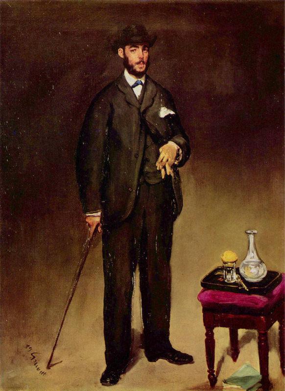 Manet, Portrait De Theodore Duret