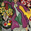 Matisse, Femme Dans Un Manteau Violet