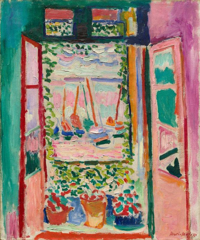 Matisse, Fenêtre Ouverte à Collioure