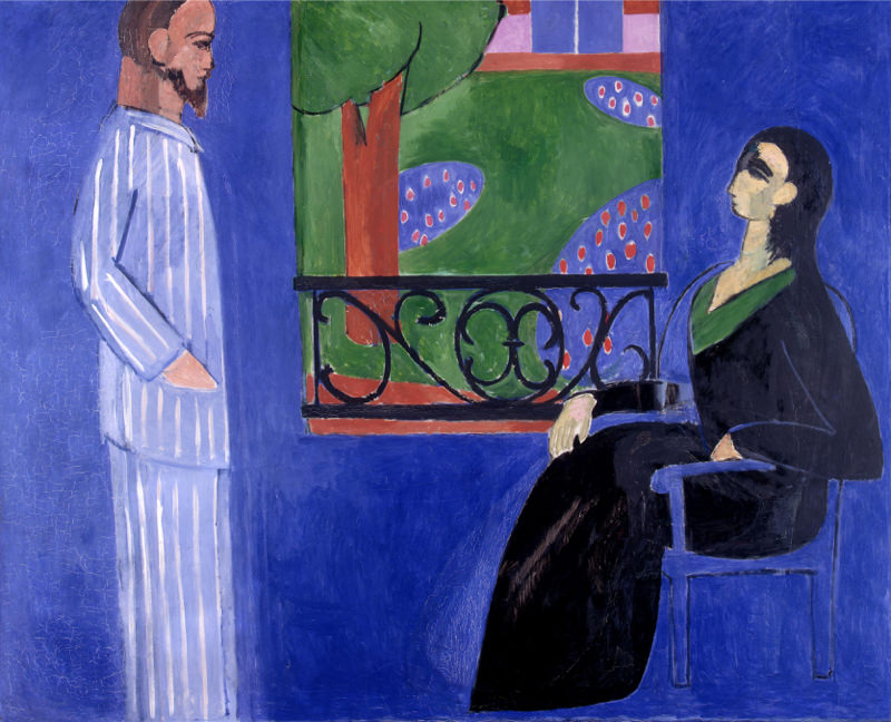 Matisse, La Conversation