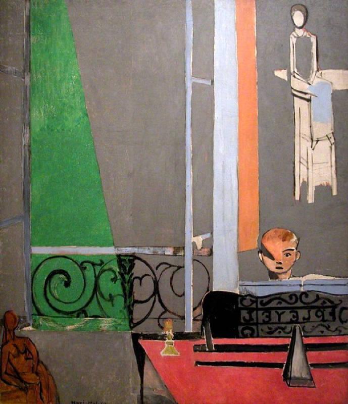 Matisse, La Leçon De Piano