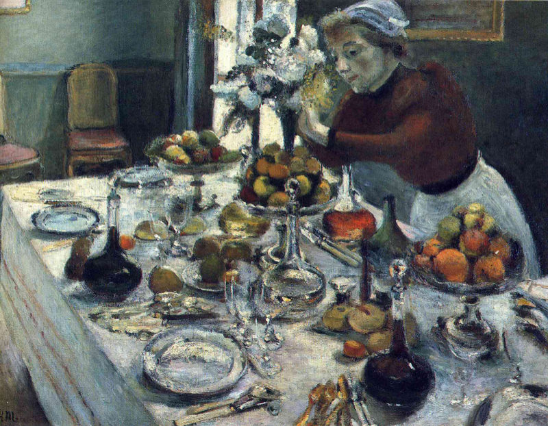 Matisse, La Table Du Diner