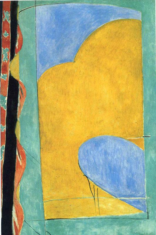 Matisse, Le Rideau Jaune